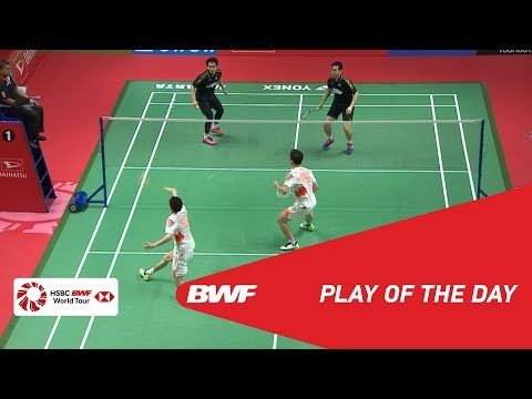 Play Of The Day | DAIHATSU Indonesia Masters 2019 SF | BWF 2019
