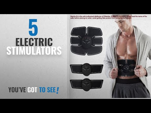 Top 10 Electric Stimulators [2018]: Muscle Toner, EMS Abs Trainer, Abdominal Toning Belts, Gym