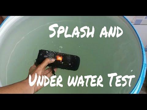 JBL Flip 3 - Extreme Splash and Under water test!