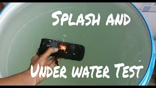 JBL Flip 3 - Extreme Splash and Under water test!