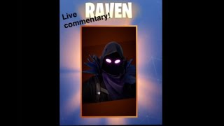 Fortnite (New Raven skin gameplay)