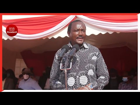Kalonzo dismisses links with Raila, says his number one priority is to defeat DP Ruto in 2022 polls