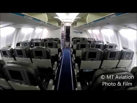 West Jet 737-600 cabin tour