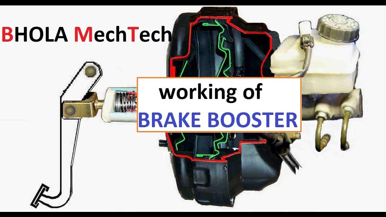 Working Of Brake Booster