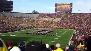 Ohio State Marching Band (11/30/3013) @ Michigan Stadium