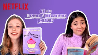 The Baby-Sitters Club Cast Reads The Baby-Sitters Club! #ReadWithMe | Netflix Futures