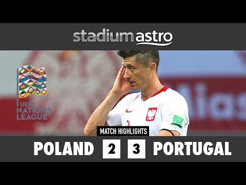 Poland 2 - 3 Portugal | UEFA Nations League Highlights | Astro SuperSport