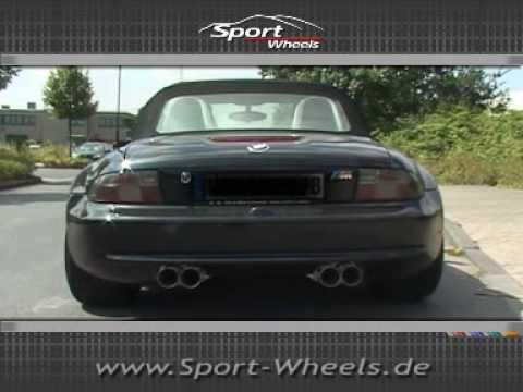 Www Sport Wheels De Bmw Z3m Mz3 Eisenmann Auspuff Exhaust