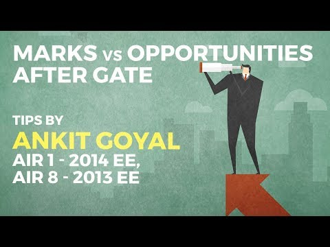 Marks vs Opportunities after GATE 2017 | Rank Predictor (EE and ECE)