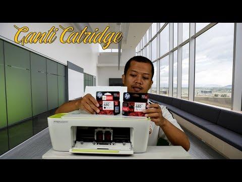 Cara Isi Ulang Refill Tinta HP 2135 (HP DJ Ink Advantage 2135) - Bahasa Indonesia..