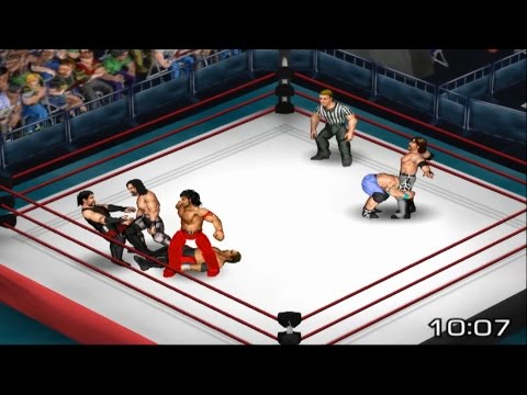 Fire Pro Wrestling Returns - 6 Man Scramble!: Champs & Challengers!