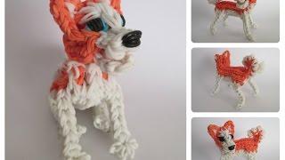 Rainbow Loom Akita Puppy Part 1/2 Loombicious