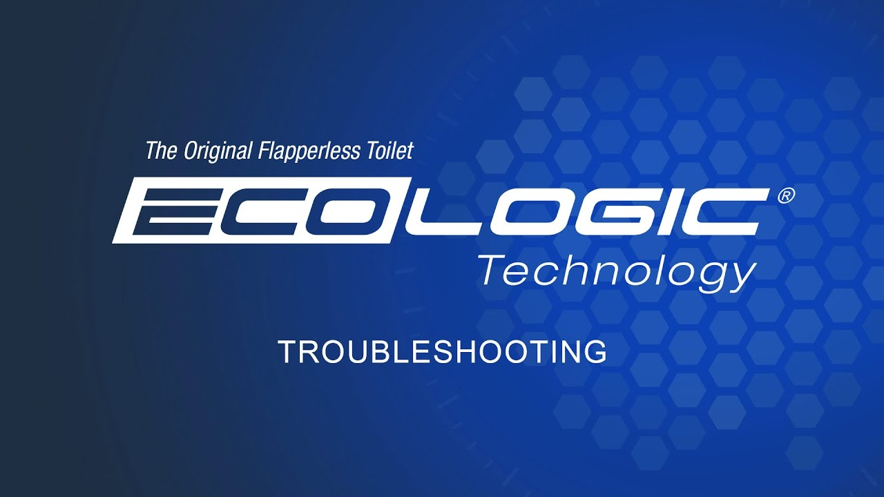EcoLogic Flapperless Toilet - Troubleshooting - YouTube