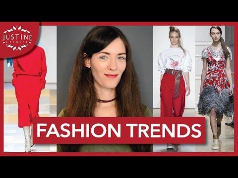 FASHION TRENDS FALL / WINTER 2017 - 2018 | Justine Leconte