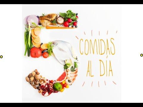 6 comidas diarias para bajar de peso