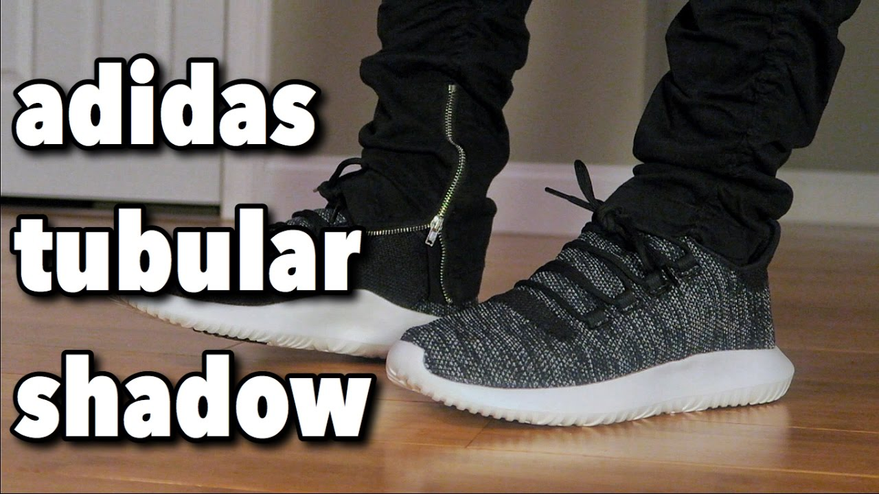 683712d6d3d adidas Tubular Shadow Knit REVIEW + ON FEET - YouTube
