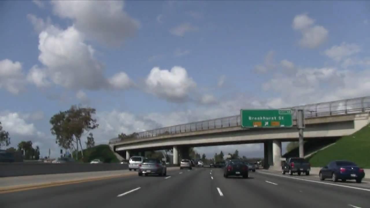 traffic report 405 north orange county ca