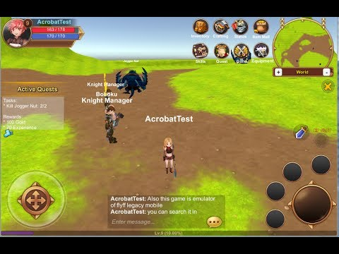 Unity3d mobile mmo mutiplayer[for sale]