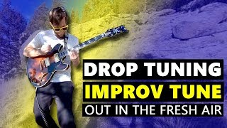 Drop Tuning Improv Tune out in the Fresh Air in 360 VR
