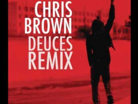 Chris Brown - Deuces Remix (Clean)