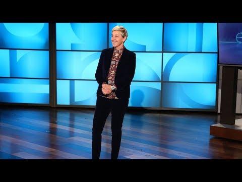 A Hilarious Surprise Guest Interrupts Ellen's 60th Birthday Celebration