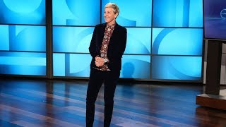 A Hilarious Surprise Guest Interrupts Ellen