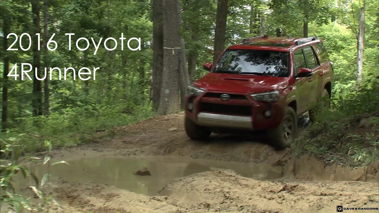 2016 toyota 4runner trail edition tour and off road. Black Bedroom Furniture Sets. Home Design Ideas