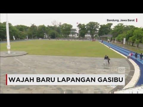 Indahnya Wajah Baru Lapangan Gasibu Bandung