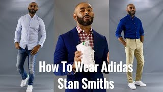 adidas stan smith wearing