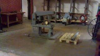 Small Saw In Action