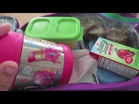 SCHOOL LUNCH IDEAS! | What My Picky Eater Ate This Week! | Week 1