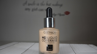 Test CATRICE HD LIQUID COVERAGE FOUNDATION