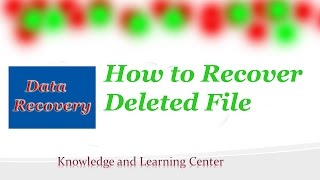 How to recover deleted files 2017 | Best Data Recovery software