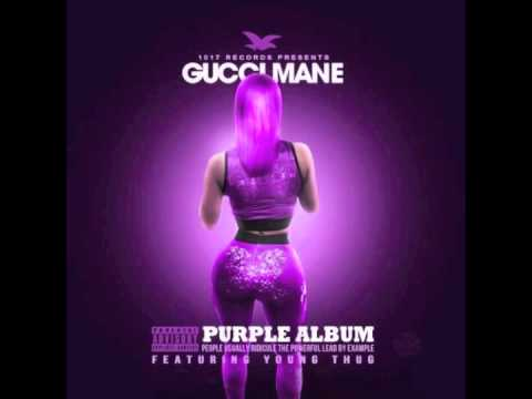 """Gucci Mane & Young Thug - """"Riding Around"""" (feat. Young LA & Dk)   (The Purple Album)"""