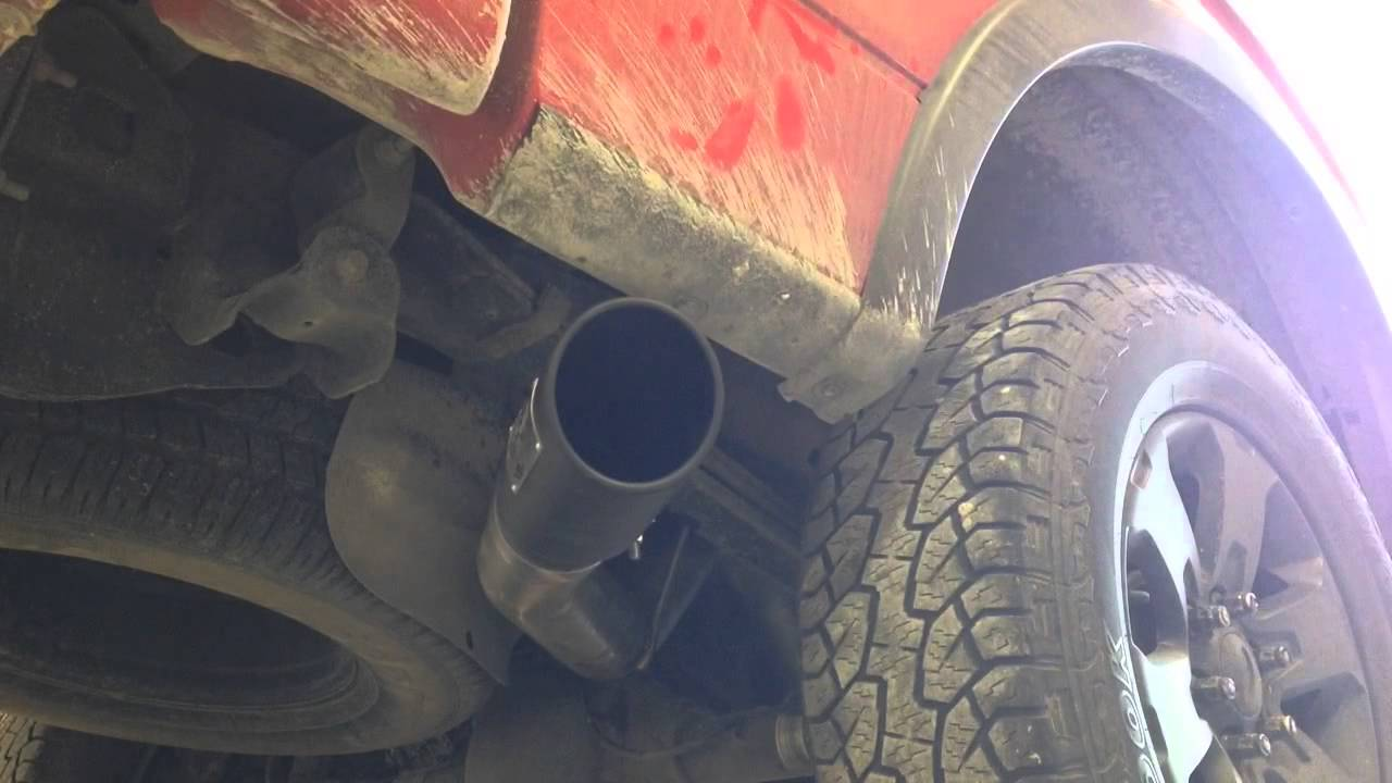 2012 F 150 Ecoboost Afe Exhaust Before And After Youtube