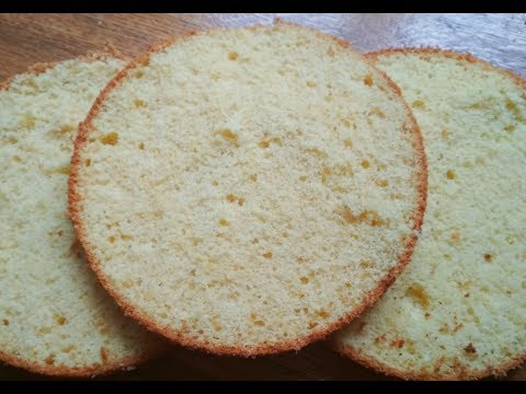 Бисквит на сливочном масле