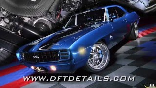 1969 Camaro ZR9 Detail Tips / Product Demo with DFT Details Video V8TV