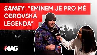 SAMEY: EMINEM JE PRO MĚ OBROVSKÁ LEGENDA / XYZ TOUR V PRAZE