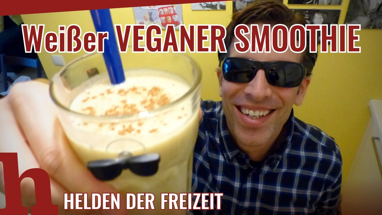 BANANEN-KOKOS-SMOOTHIE vegan - das gesunde Power-Getränk - YouTube