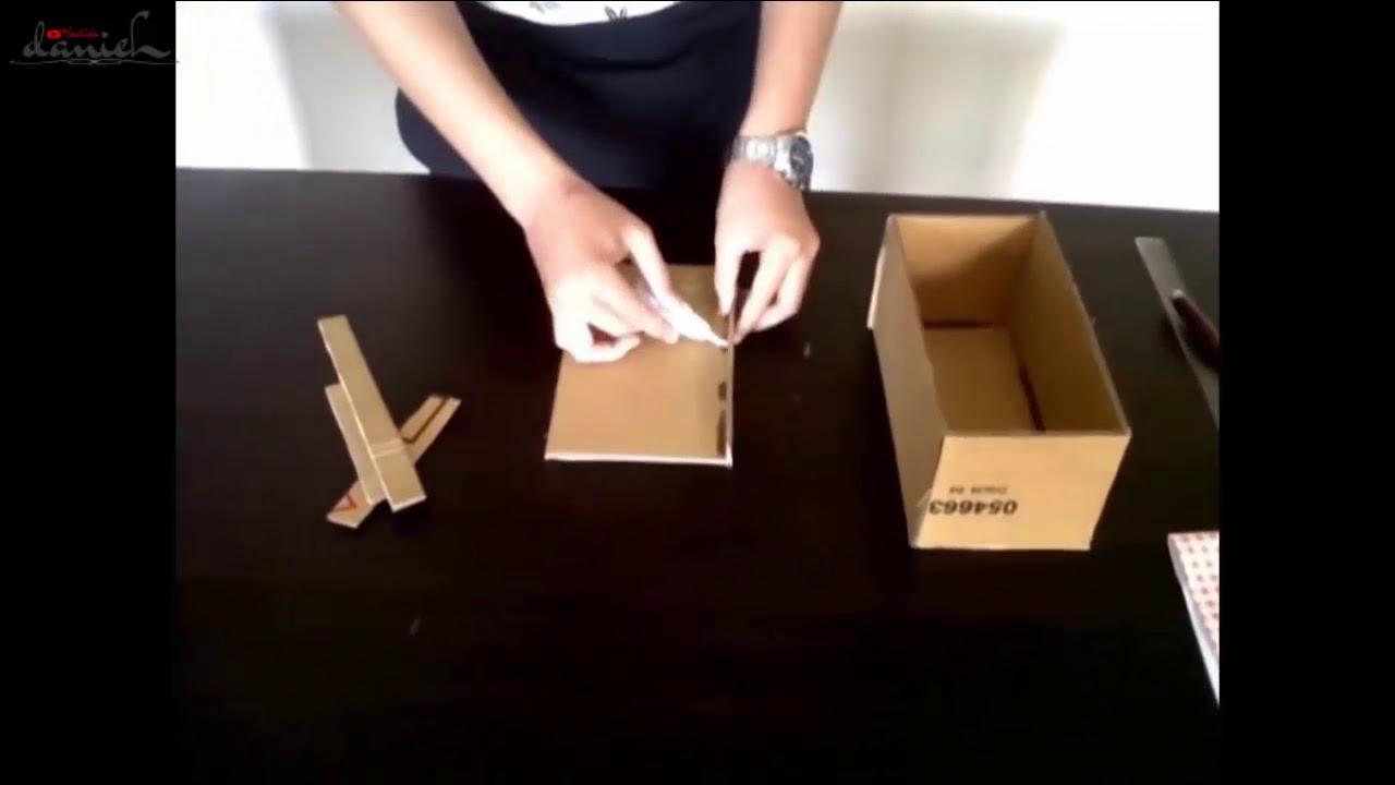 Ide Kreatif Membuat Kotak Tisu Dari Kardus Bekas Yang Menarik - YouTube 53a4036576