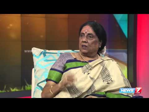 Tamil writer and activist Sivasankari opens up about her life @ Varaverpparai 2/2 | News7 Tamil
