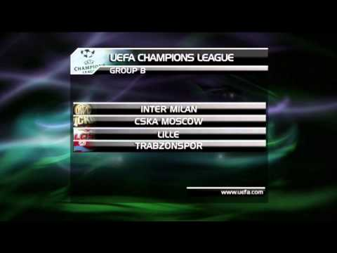 Champions League 2011/12 Group Stage Draw