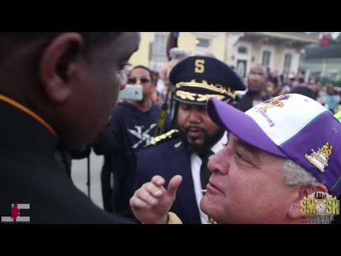 Southern University vs Miles College (BEST QUALITY ) (RAW!!) (CLOSE UP VIEW) @ Bacchus Parade 2018