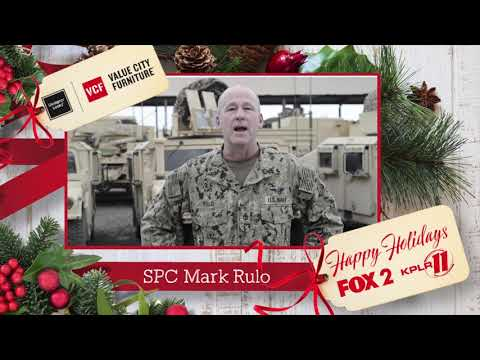 Military Holiday Greetings: Chief Operation Specialist Mark Rulo