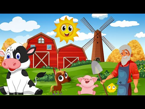 Old MacDonald Had A Farm Nursery Rhymes at fun for KidsTV songs