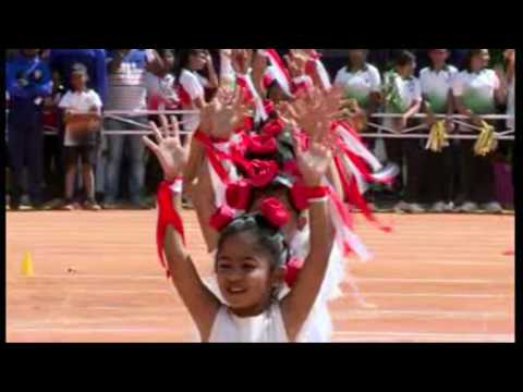Ninth Annual Sports Day - Display  PYP Students