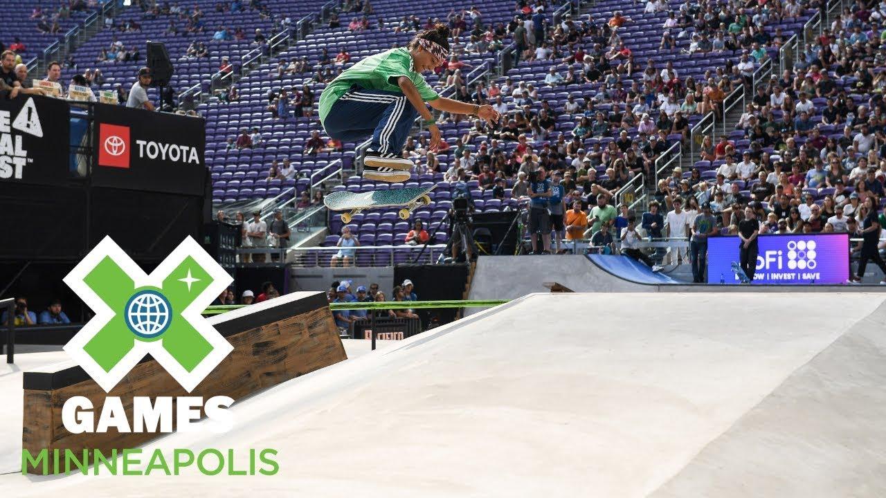 Women's Skateboard Street: FULL BROADCAST