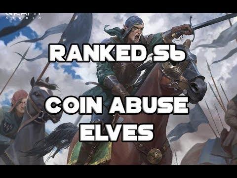 [Gwent] Ranked S6: Coin abuse elves, el último de los Top Tier
