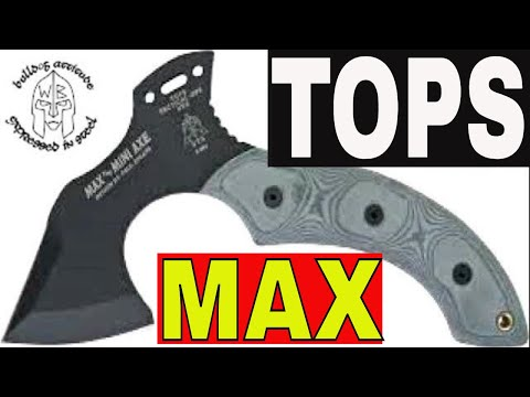 TOPS MAX THE MINI AXE some chopping fun with Funkyprepper
