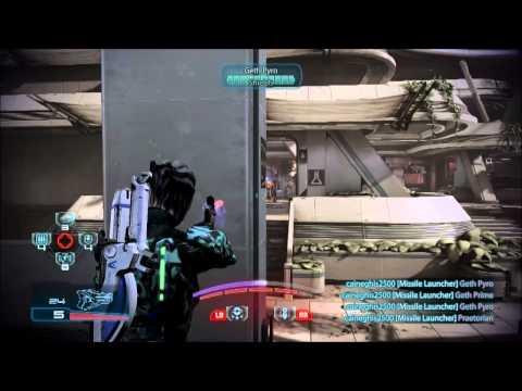 Mass Effect 3: ALL BIOTICS PLATINUM vs Collectors  LIVE COMMENTARY!!!